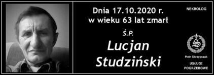 Ś.P. Lucjan Studziński