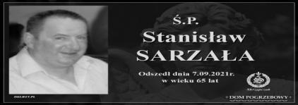 Ś.P. Stanisław Sarzała