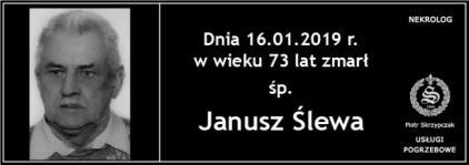 Ś.P. Janusz Ślewa