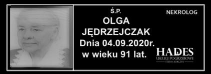 Ś.P. OLGA JĘDRZEJCZAK