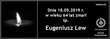 Ś.P. Eugeniusz Lew