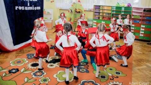 Święto Niepodległości w drawskim przedszkolu