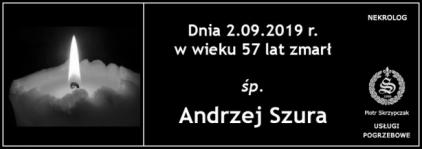 Ś.P. Andrzej Szura