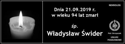 Ś.P. Władysław Świder