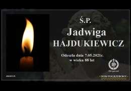 Ś.P. Jadwiga Hajdukiewicz