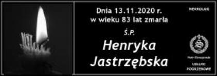 Ś.P. Henryka Jastrzębska