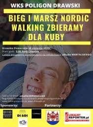 2020-08-30 BIEG I MARSZ NORDIC WALKING ZBIERAMY DLA KUBY