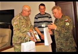 Spotkanie dowództwa V korpusu Sił Zbrojnych USA z komendą poligonu drawskiego
