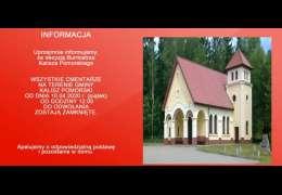 Kalisz Pomorski zamyka cmentarze