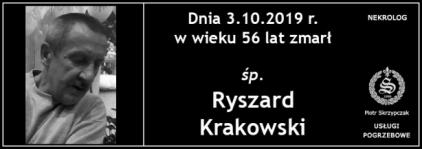 Ś.P. Ryszard Krakowski