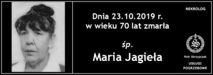 Ś.P. Maria Jagieła