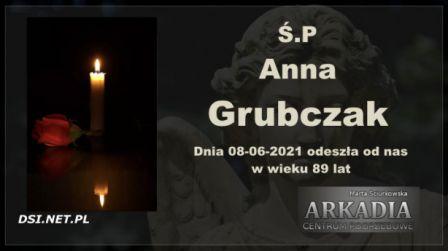Ś.P. Anna Grubczak