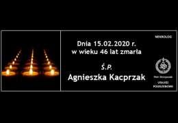 Ś.P. Agnieszka Kacprzak
