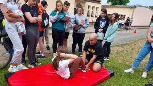Dzień Sportu w szkole w Mielenku Drawskim