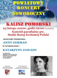 2020-02-23 Koncert piosenek Anny German w Kaliszu Pomorskim