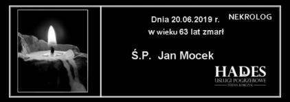 Ś.P. Jan Mocek