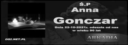 Ś.P. Anna Gonczar