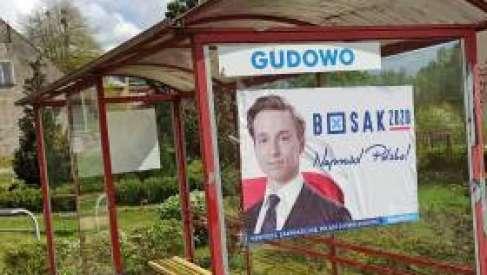 24-letni mieszkaniec Drawska Pomorskiego podejrzany o zniszczenie samochodu  komitetu wyborczego kandydata na prezydenta Krzysztofa Bosaka