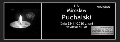 Ś.P. Mirosław Puchalski