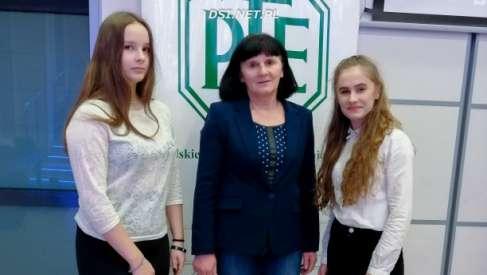 Uczennice z LO Andersa na olimpiadzie wiedzy ekonomicznej w Szczecinie
