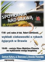 2020-01-28 Spotkania nad Drawą -  wykład i film