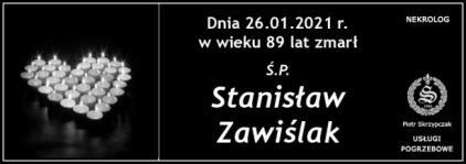 Ś.P. Stanisław Zawiślak