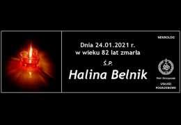 Ś.P. Halina Belnik
