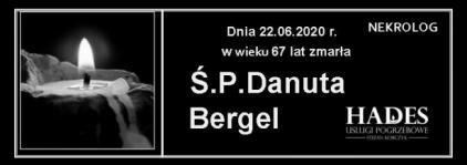 Ś.P.Danuta Bergel