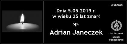 Ś.P. Adrian Janeczek