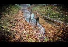Poziom wody w kanale rzeki Drawy. RDOŚ odpowiada na pytania
