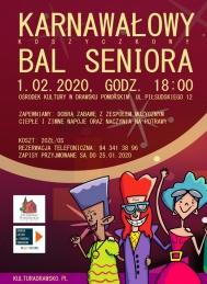 2020-02-01 Karnawałowy Koszyczkowy Bal Seniora