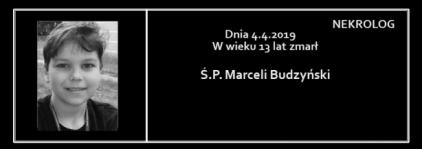 Ś.P. Marceli Budzyński