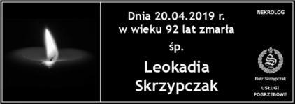 Ś.P. Leokadia Skrzypczak