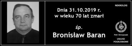 Ś.P. Bronisław Baran