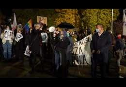 Kobiety się organizują i na niedzielę szykują akcje protestacyjne w Drawsku, Złocieńcu i Czaplinku. Zobacz jak to wyglądało w  Szczecinie