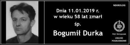 Ś.P. Bogumił Durka