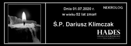 Ś.P. Dariusz Klimczak