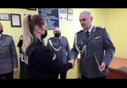 Drawscy młodzi policjanci wypowiedzieli słowa roty. Zdjęcia