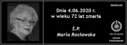 Ś.P. Maria Rocławska