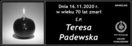 Ś.P. Teresa Padewska