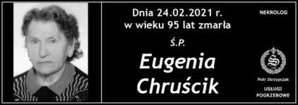 Ś.P. Eugenia Chruścik