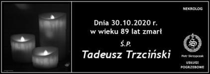 Ś.P. Tadeusz Trzciński