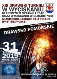 2019-08-31 XIII Drawski Turniej w wyciskaniu wielokrotnym