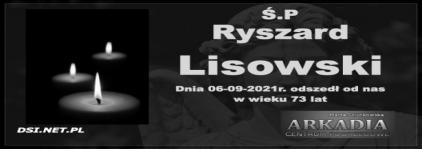 Ś.P. Ryszard Lisowski
