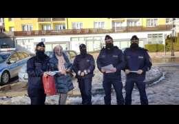 Dzisiejsze  spotkania seniorów z policjantami okazały się całkiem przyjemne