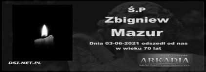 Ś.P Zbigniew Mazur