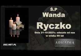 Ś.P. Wanda Ryczko