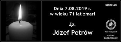 Ś.P. Józef Petrów