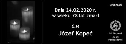 Ś.P. Józef Kopeć