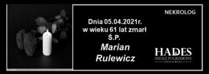 Ś.P. Marian Rulewicz